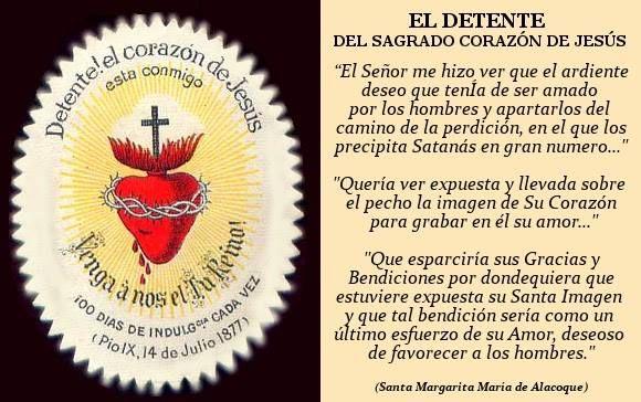 El Detente Del Sagrado Corazón De Jesús Corazón De Jesús