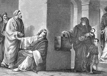 La viuda pobre del Evangelio