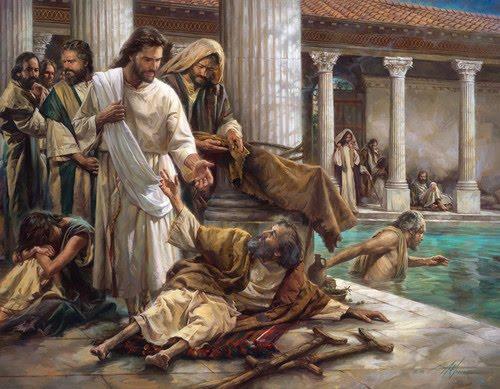 Jesucristo y el paralítico de betsada