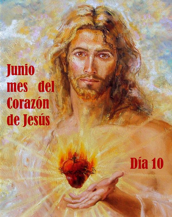 Imagen del Sagrado Corazón de Jesús día10