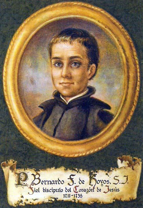 Beato Bernardo Francisco Hoyos, Presbítero Jesuíta