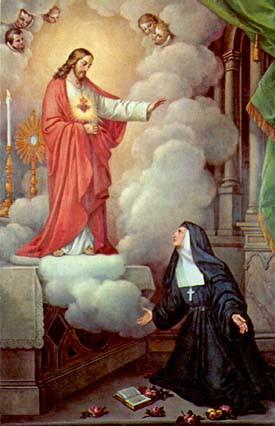 Vida y obras de Santa Margarita Mª de Alacoque(VII)