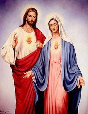 Corazón de Jesús y de María