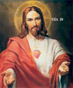 Mes del Corazón de Jesús basado en el Mes de Ejercicios del P. Mendizábal.  DÍA VIGÉSIMO OCTAVO.LA MORTIFICACIÓN