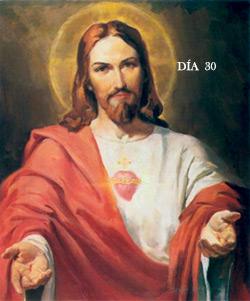 Mes del Corazón de Jesús basado en el Mes de Ejercicios del P. Mendizábal. DÍA TRIGÉSIMO. CONTEMPLACIÓN PARA ALCANZAR AMOR