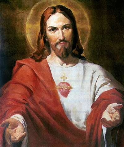 """Letanías del corazón de Jesús """"Corazón de Jesús, salvación de los que en Ti esperan; Corazón de Jesús, esperanza de los que en Ti mueren"""""""
